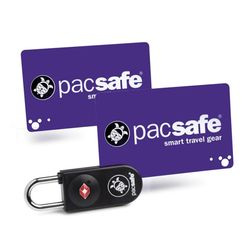 팩세이프 카드키자물쇠 TSA자물쇠 PROSAFE 750 블랙