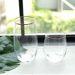 골드클래식 글라스 와인잔 칵테일잔-언더락