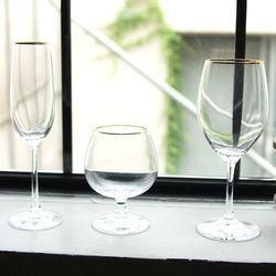 골드클래식 글라스 와인잔 칵테일잔-와인잔 샴페인잔 칵테일잔
