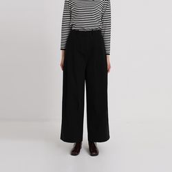 come wide cotton pants (3colors)