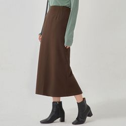 softly simple long skirt (s m)