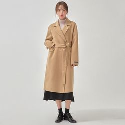 refined handmade coat (wool90)