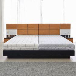 라노체 유럽라텍스 루나 평상형 침대 로얄킹