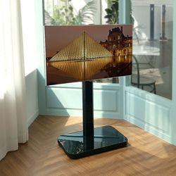 덴켄 가정용 이동식 TV 스탠드 보급형 블랙