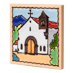 스페니쉬 타일 냉장고 자석 스페인 마그넷 - 교회