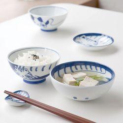 네코 diet 밥공기 국그릇 1인세트 JAPAN