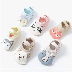 귀여운 동물친구들 유아덧신 3종세트(1-5세) 203672