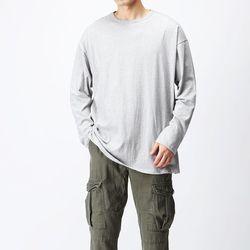 [매트블랙] 기획 라운드 쭉 티셔츠