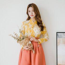 해뜰 저고리 + 다미혜 허리치마