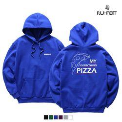 뉴해빗 - my pizza - 기모 후드 - 7nmh-67