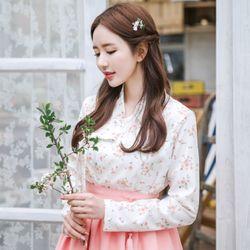 벚꽃엔딩 저고리+ 늘품 허리치마+ 소단 허리치마