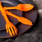 할로윈 수저세트(오렌지)