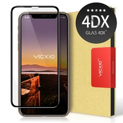 아이폰XS 맥스 풀커버 강화유리 필름 4DX