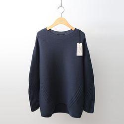Hoega Cashmere Wool Round Sweater