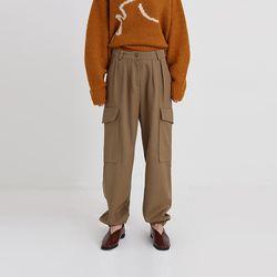 street cargo jogger pants (3colors)