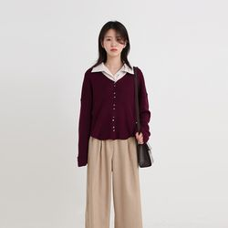 roll up golgi v-neck cardigan (5colors)