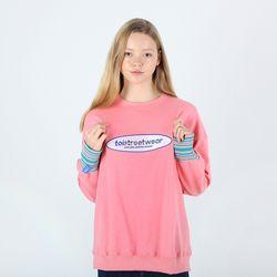 TOi TSW 로고 스웨트셔츠 핑크