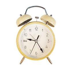 모디 원목무늬 탁상시계