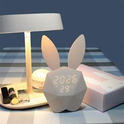 모디 토끼 무드등 LED시계