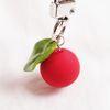 빨간 열매 에어팟 키링