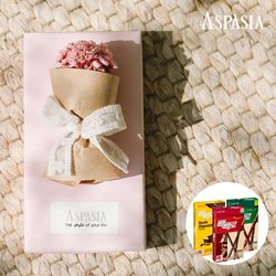 11월의고백 미니꽃다발(스타플라워)&막대과자-11.11데이선물