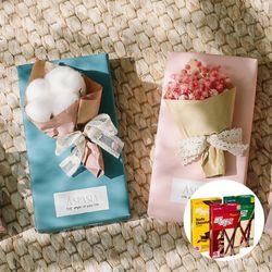 11월의고백 미니꽃다발&막대과자-미니꽃다발프리저브드플라워
