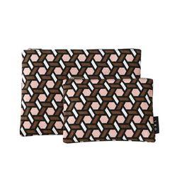 OBL 트레스 핑크 파우치(S)