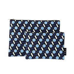 OBL 트레스 블루 파우치(M)