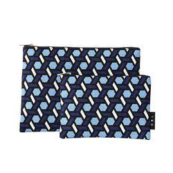 OBL 트레스 블루 파우치(S)