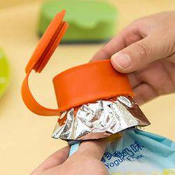 다용도 비닐봉투 밀폐캡 매직캡 중형 사이즈