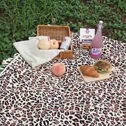 피크닉매트 단품-  Leopard Picnic mat