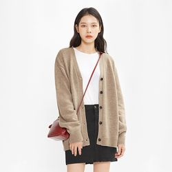 FRESH A wool soft cardigan