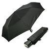 [rain s.] 스퀘어핸들 3단 자동 우양산 - R780블랙
