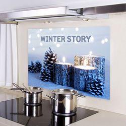 감성 디자인보드 Winter Story 05 (80x50cm)