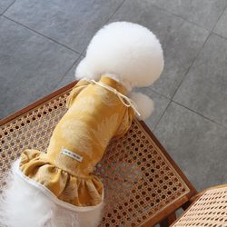 [O.브렌다원피스] Brenda OPC Mustard