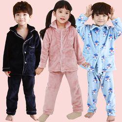 [엔비키즈] 극세사 아동 수면잠옷 파자마 수면조끼 실내복