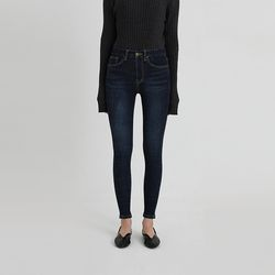 napping blue skinny denim pants