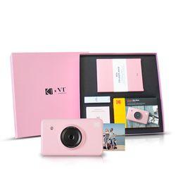 코닥 정품 휴대용 포토프린터 미니샷 X VT 콜라보 PINKBOX