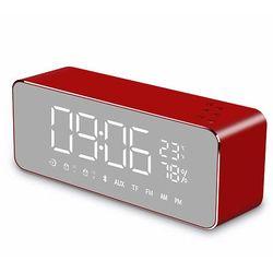 EZ-Mirror Shadow블루투스스피커 탁상시계 라디오 MP3
