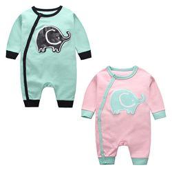 파스텔 코끼리 우주복(0-24개월) 203693