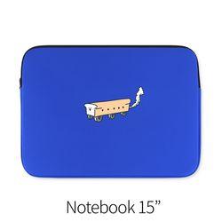 식빵기차 (노트북 15인치 파우치)
