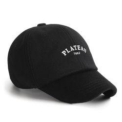 18F FONZ 1982 CAP BLACK 겨울용 울 볼캡