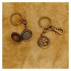 [커플세트] 말장식 로켓키링(열쇠고리)
