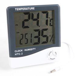 외부센서로 측정력좋은 디지털 온습도계HTC-2