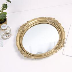아르테미스 황금 벽걸이 거울