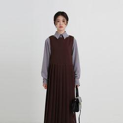 stitch fall blouse (2colors)