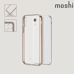 모쉬 아이폰XR 투명 소프트케이스 비트로스골드