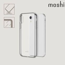 모쉬 아이폰XR 투명 소프트케이스 비트로스실버