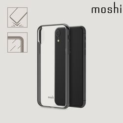 모쉬 아이폰XR 투명 소프트케이스 비트로스블랙