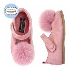 [방한구두] 아멜리구두(핑크)